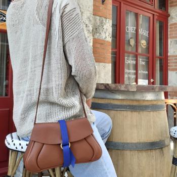 pochette sac cuir de luxe maroquinerie francaise
