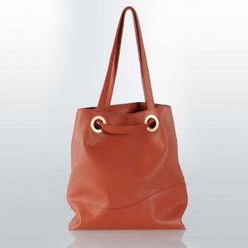 luxury leather totebag