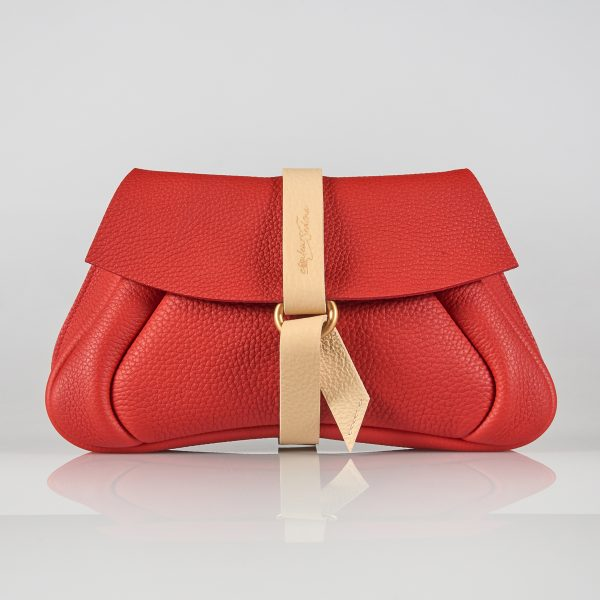 luxury leather pouch