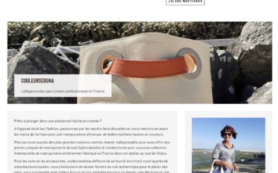 Cadeaux personnalisés – CouleurSedona Maroquinerie chez LaMasterbox