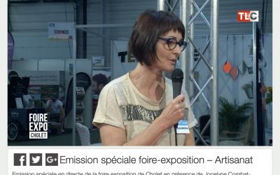 Emission spéciale Artisanat avec CouleurSedona Création Française de Maroquinerie à Cholet