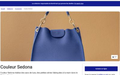 CouleurSedona Création Maroquinerie de Luxe chez Marques de France
